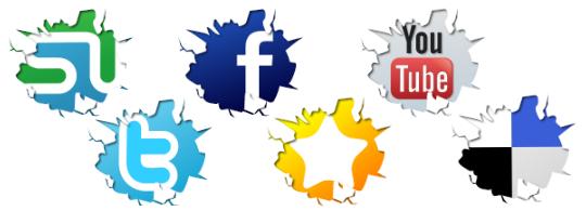 les différents réseaux sociaux