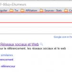 Refonte de l'interface utilisateur Google